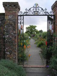 Gate to the walled garden